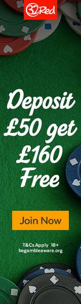 32Red Casino - Welcome Bonus